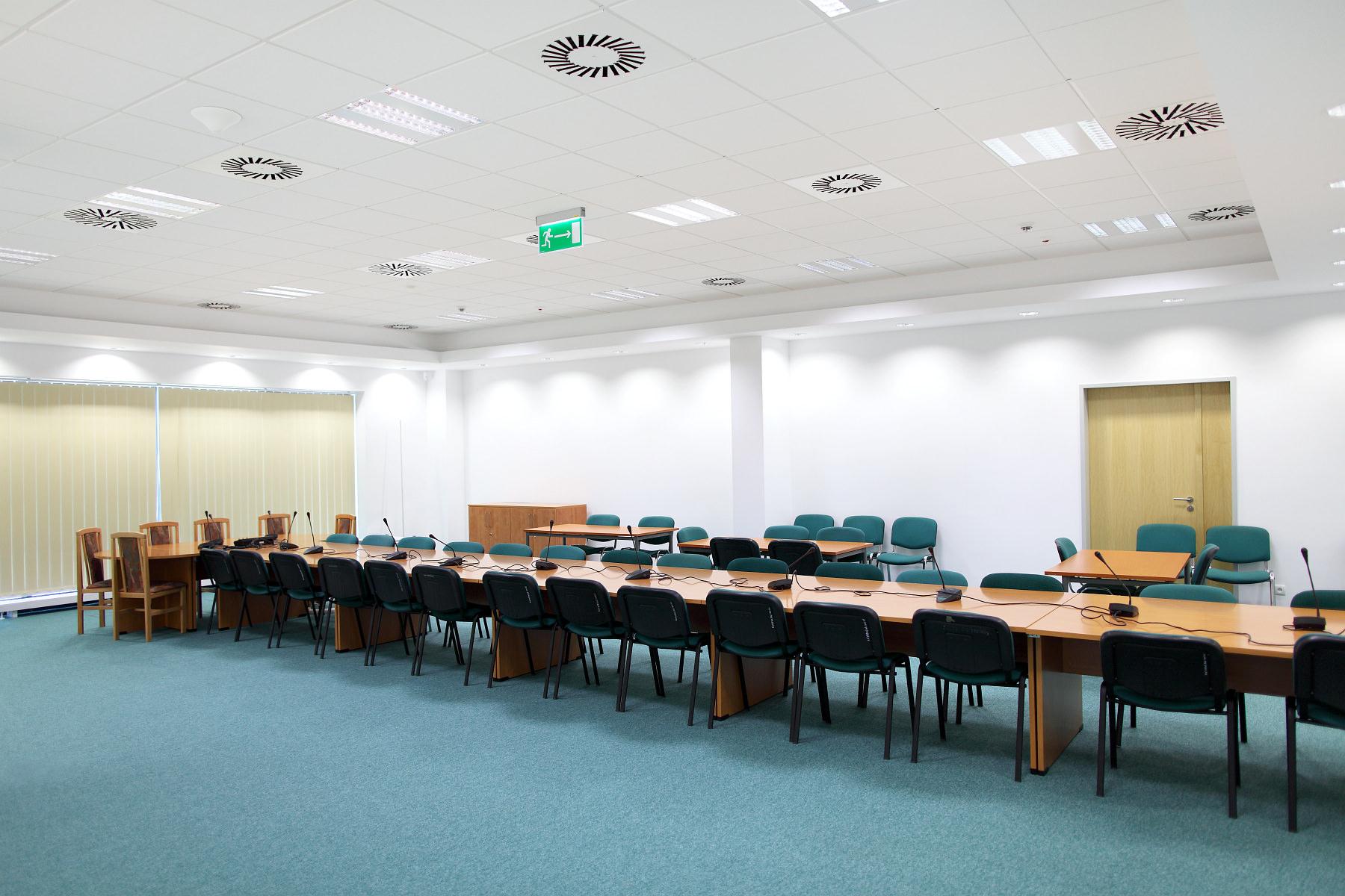 Kompleks biurowy Poleczki Business Park – zdjęcia wnętrz