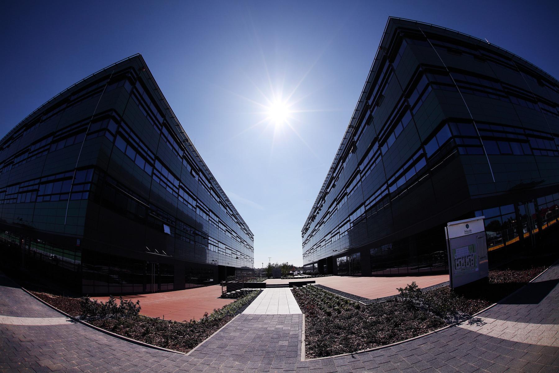 Kompleks biurowy Poleczki Business Park – zdjęcia z zewnątrz