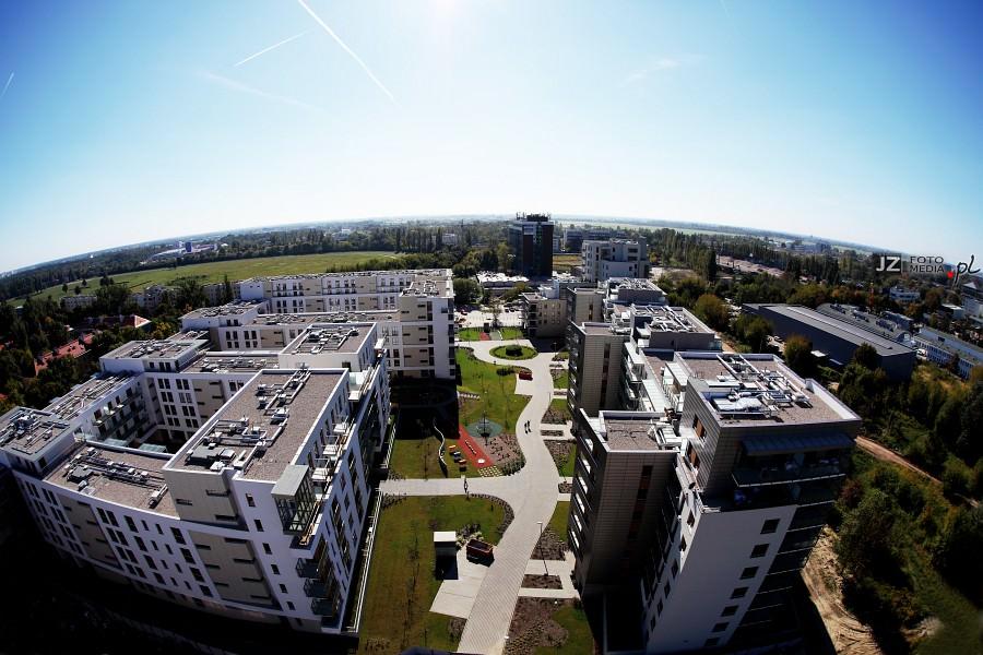 Warszawa, osiedle mieszkaniowe Hubertus - zdjęcia do katalogu 2