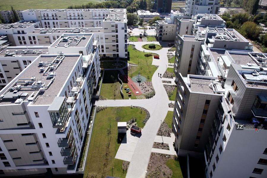 Warszawa, osiedle mieszkaniowe Hubertus - zdjęcia do katalogu 39