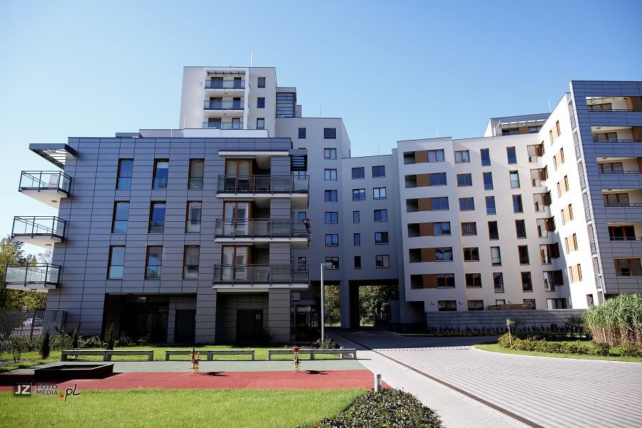 Warszawa, osiedle mieszkaniowe Hubertus - zdjęcia do katalogu 8