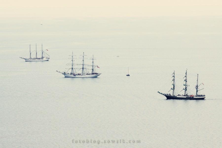 """Zlot Żaglowców Gdynia 2009. Regaty (CUTTY SARK) """"The Tall Ship`s Races"""" cz 2 z 2. 2"""