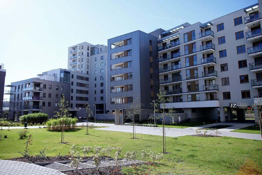 Warszawa, osiedle mieszkaniowe Hubertus - zdjęcia do katalogu 15