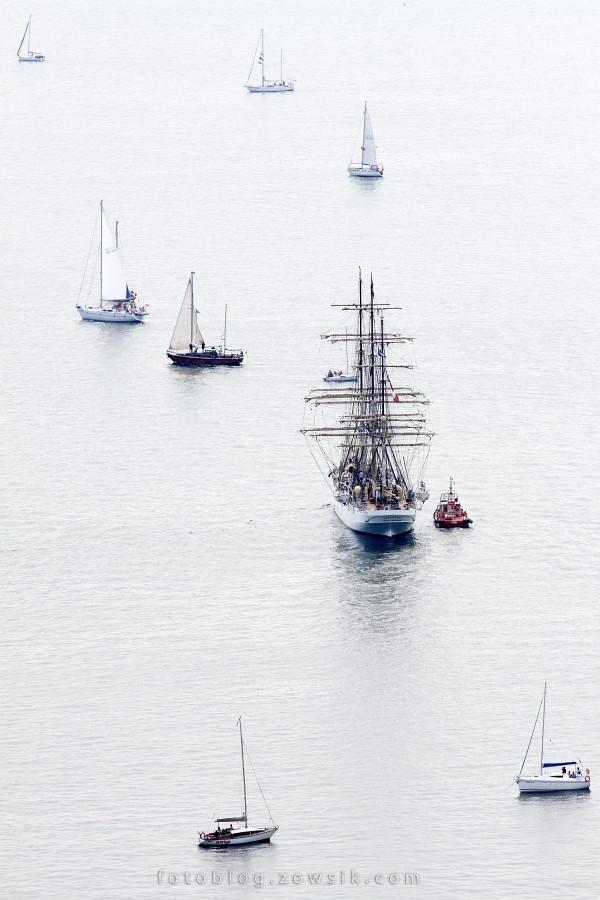 """Zlot Żaglowców Gdynia 2009. Regaty (CUTTY SARK) """"The Tall Ship`s Races"""" cz 2 z 2. 6"""