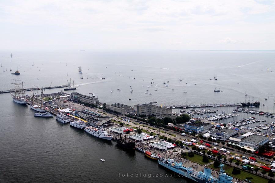 """Zlot Żaglowców Gdynia 2009. Regaty (CUTTY SARK) """"The Tall Ship`s Races"""" cz 2 z 2. 7"""