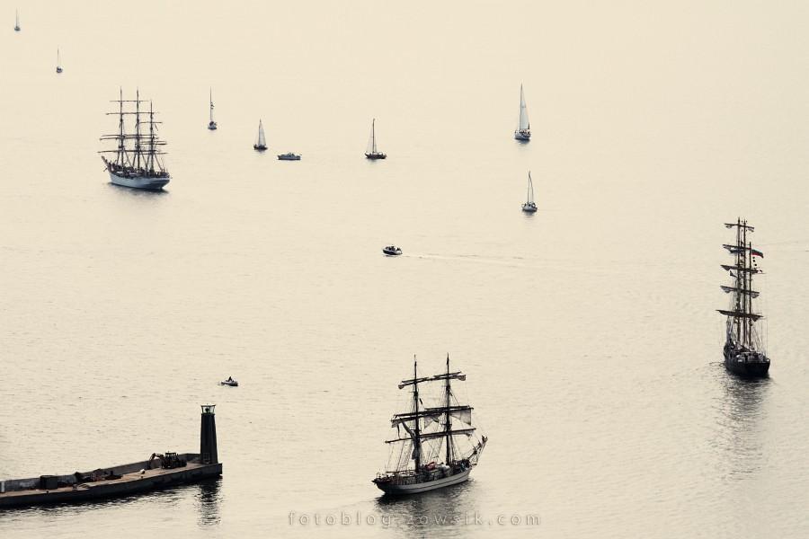 """Zlot Żaglowców Gdynia 2009. Regaty (CUTTY SARK) """"The Tall Ship`s Races"""" cz 2 z 2. 9"""
