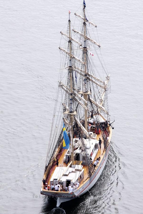 """Zlot Żaglowców Gdynia 2009. Regaty (CUTTY SARK) """"The Tall Ship`s Races"""" cz 2 z 2. 8"""