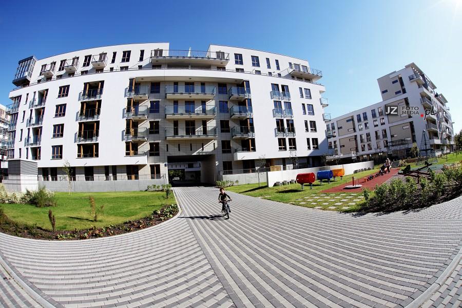 Warszawa, osiedle mieszkaniowe Hubertus - zdjęcia do katalogu 37