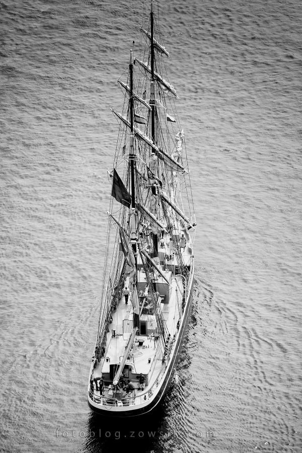 """Zlot Żaglowców Gdynia 2009. Regaty (CUTTY SARK) """"The Tall Ship`s Races"""" cz 2 z 2. 10"""