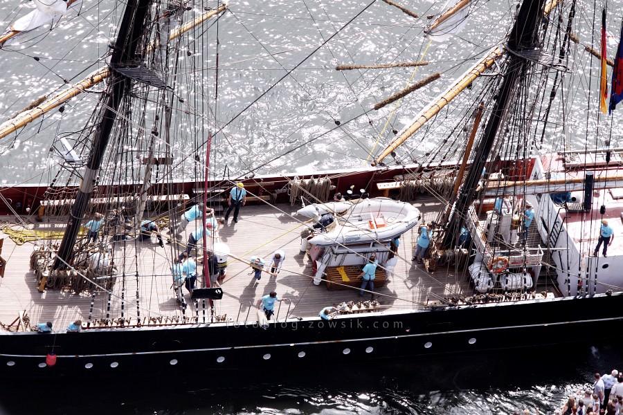 """Zlot Żaglowców Gdynia 2009. Regaty (CUTTY SARK) """"The Tall Ship`s Races"""" cz 2 z 2. 11"""