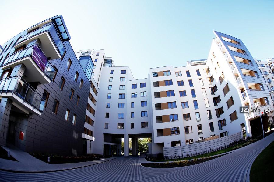 Warszawa, osiedle mieszkaniowe Hubertus - zdjęcia do katalogu 11