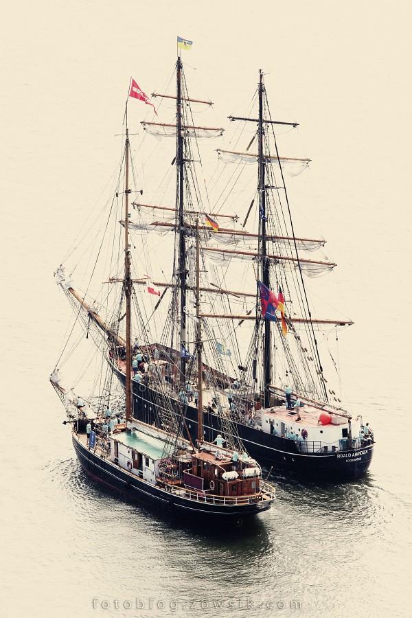 """Zlot Żaglowców Gdynia 2009. Regaty (CUTTY SARK) """"The Tall Ship`s Races"""" cz 2 z 2. 13"""