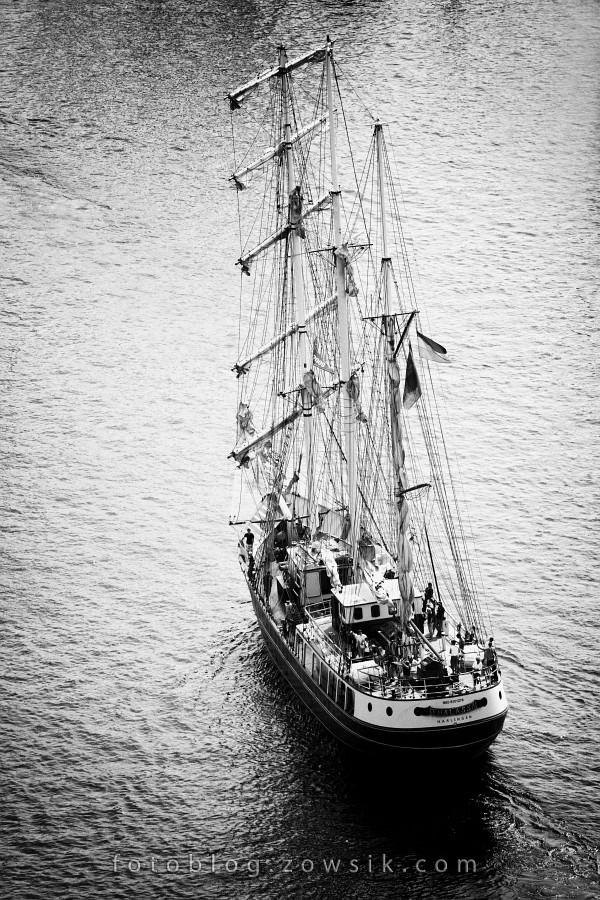 """Zlot Żaglowców Gdynia 2009. Regaty (CUTTY SARK) """"The Tall Ship`s Races"""" cz 2 z 2. 14"""