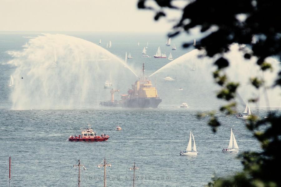 """Zlot Żaglowców Gdynia 2009. Regaty (CUTTY SARK) """"The Tall Ship`s Races"""" cz 2 z 2. 15"""