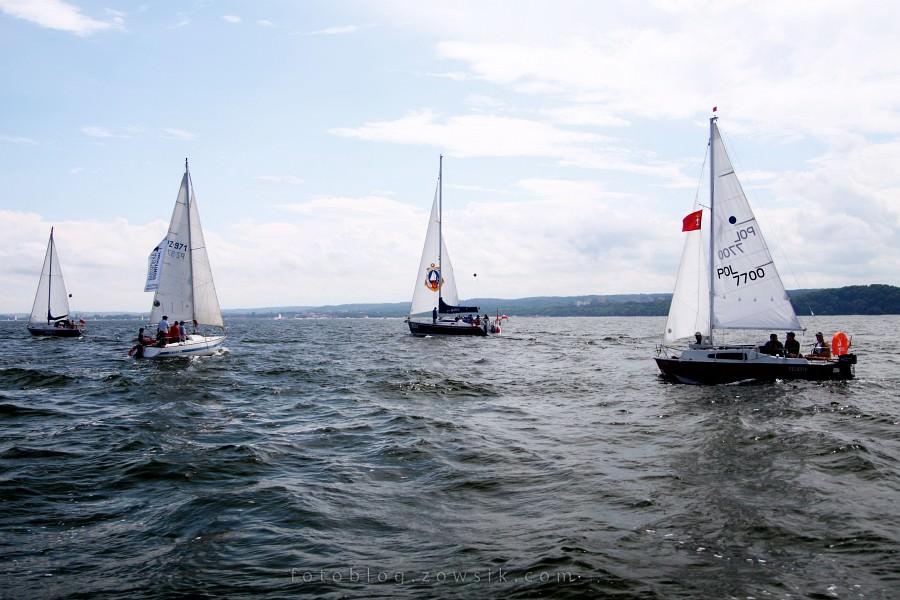 """Zlot Żaglowców Gdynia 2009. Regaty (CUTTY SARK) """"The Tall Ship`s Races"""" cz 2 z 2. 18"""