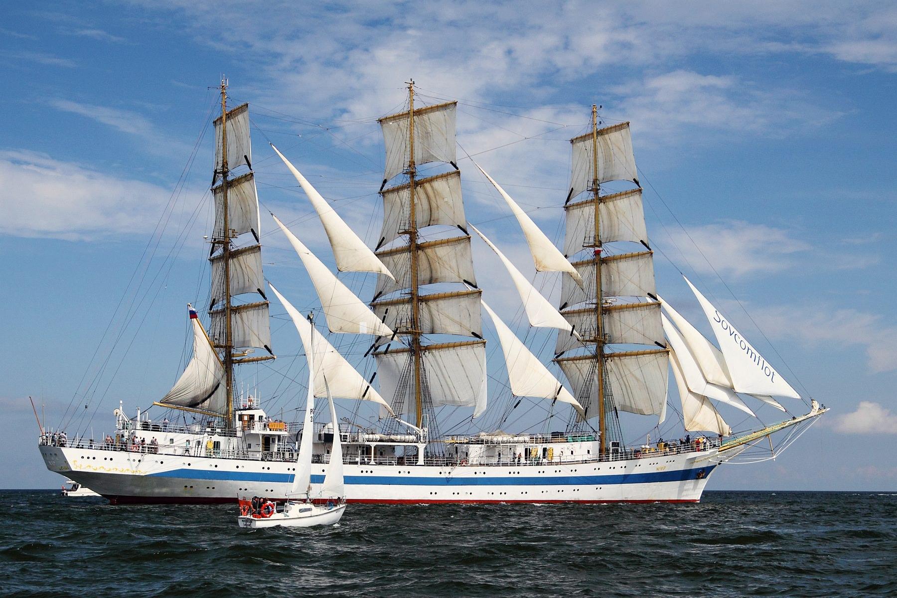 """Zlot Żaglowców Gdynia 2009. Regaty (CUTTY SARK) """"The Tall Ship`s Races"""" cz 2 z 2."""