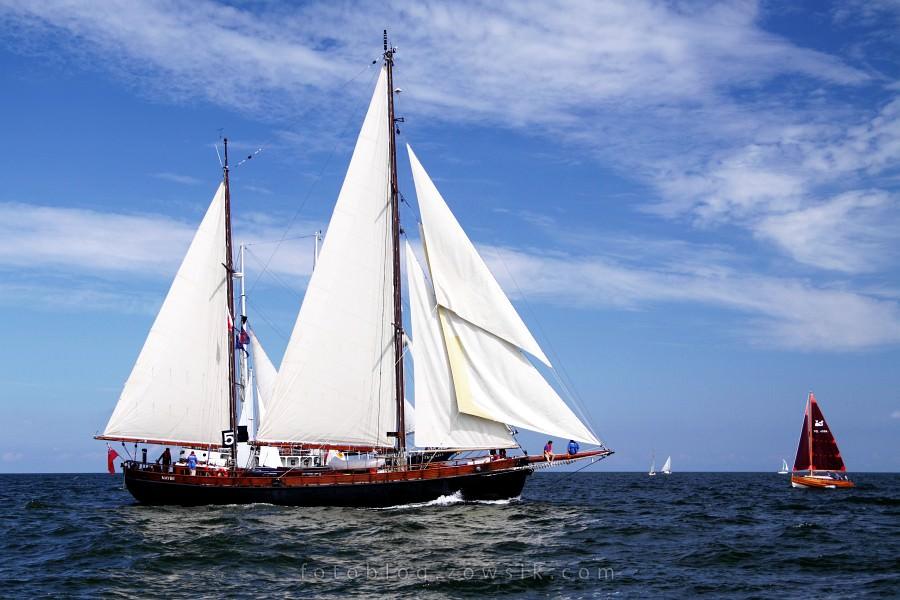 """Zlot Żaglowców Gdynia 2009. Regaty (CUTTY SARK) """"The Tall Ship`s Races"""" cz 2 z 2. 20"""