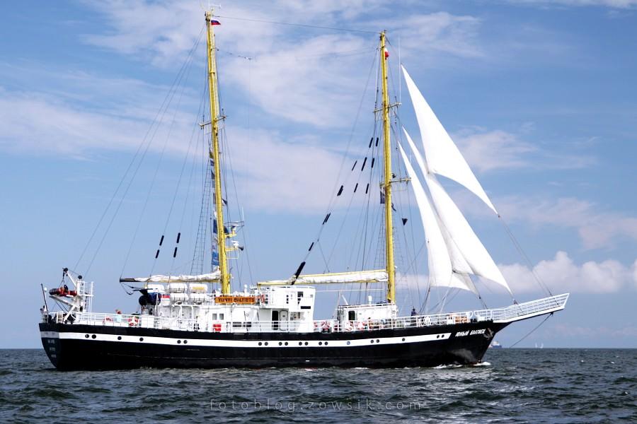 """Zlot Żaglowców Gdynia 2009. Regaty (CUTTY SARK) """"The Tall Ship`s Races"""" cz 2 z 2. 21"""