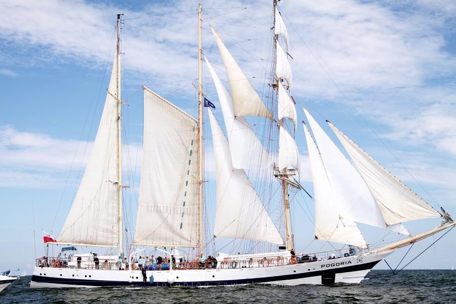 """Zlot Żaglowców Gdynia 2009. Regaty (CUTTY SARK) """"The Tall Ship`s Races"""" cz 2 z 2. 23"""