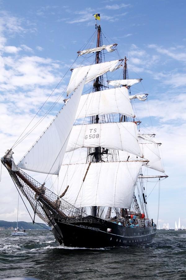 """Zlot Żaglowców Gdynia 2009. Regaty (CUTTY SARK) """"The Tall Ship`s Races"""" cz 2 z 2. 22"""