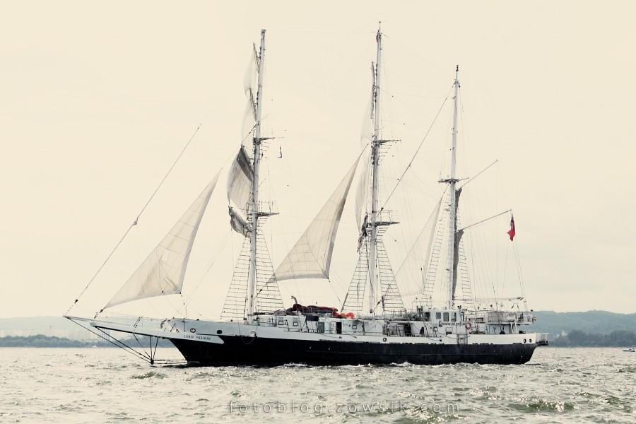 """Zlot Żaglowców Gdynia 2009. Regaty (CUTTY SARK) """"The Tall Ship`s Races"""" cz 2 z 2. 25"""