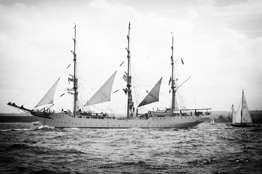 """Zlot Żaglowców Gdynia 2009. Regaty (CUTTY SARK) """"The Tall Ship`s Races"""" cz 2 z 2. 26"""