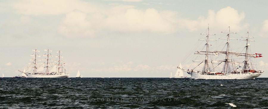 """Zlot Żaglowców Gdynia 2009. Regaty (CUTTY SARK) """"The Tall Ship`s Races"""" cz 2 z 2. 27"""