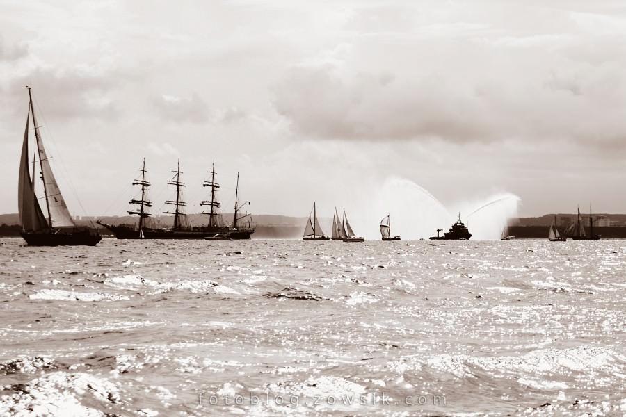 """Zlot Żaglowców Gdynia 2009. Regaty (CUTTY SARK) """"The Tall Ship`s Races"""" cz 2 z 2. 29"""