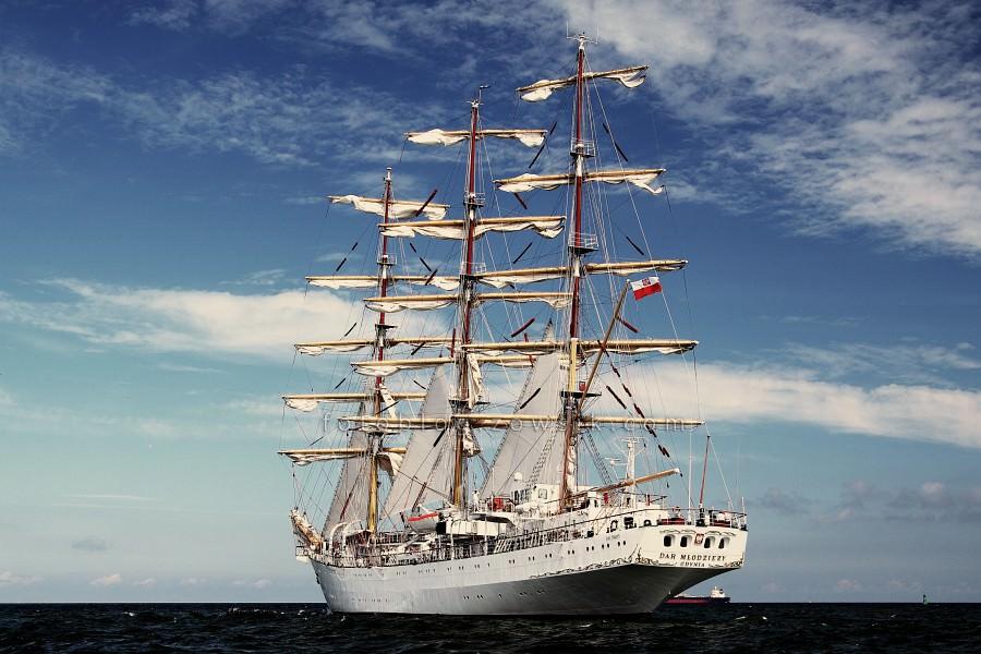 """Zlot Żaglowców Gdynia 2009. Regaty (CUTTY SARK) """"The Tall Ship`s Races"""" cz 2 z 2. 31"""