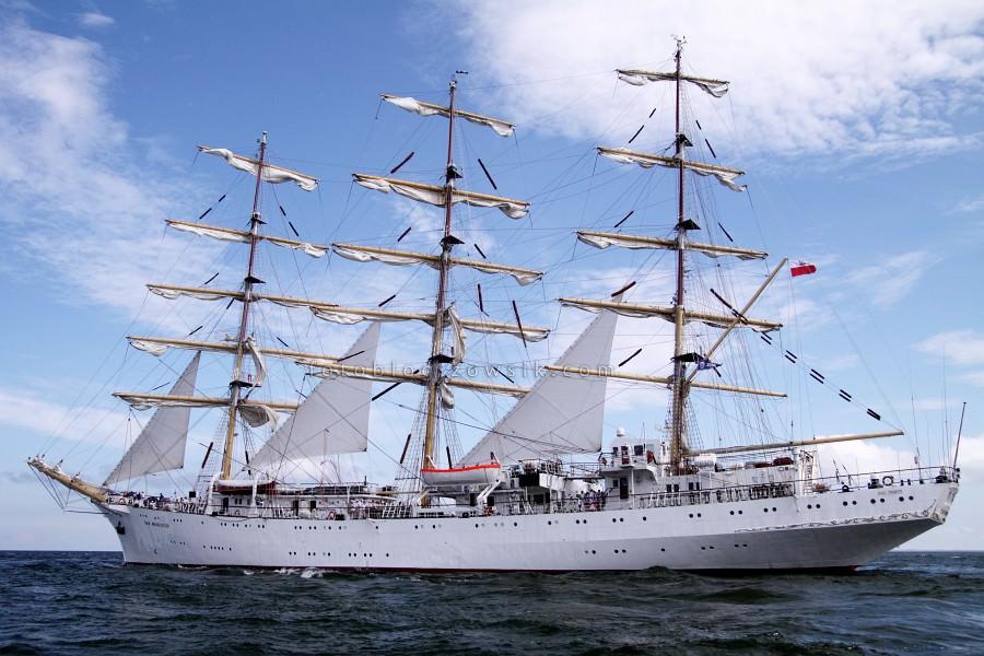 """Zlot Żaglowców Gdynia 2009. Regaty (CUTTY SARK) """"The Tall Ship`s Races"""" cz 2 z 2. 32"""
