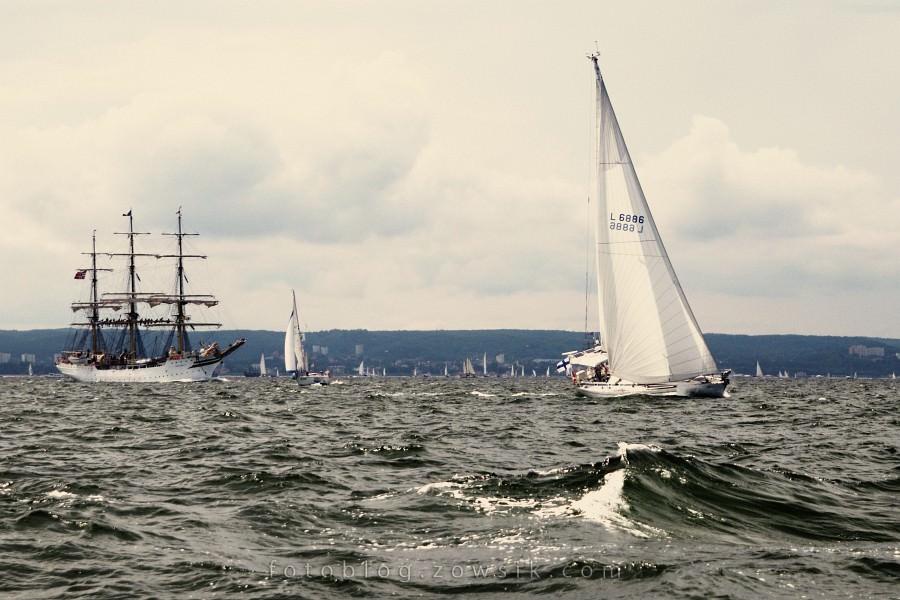 """Zlot Żaglowców Gdynia 2009. Regaty (CUTTY SARK) """"The Tall Ship`s Races"""" cz 2 z 2. 34"""