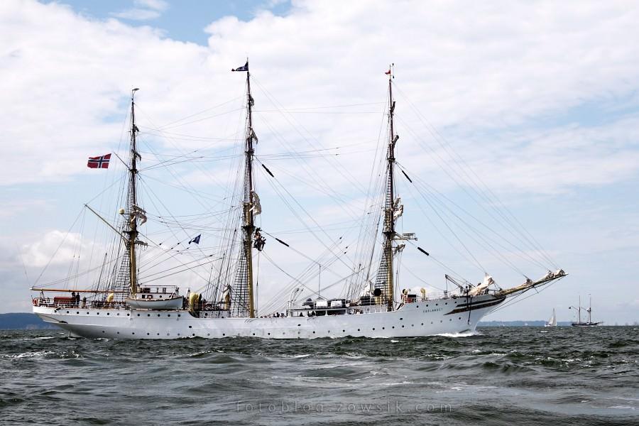 """Zlot Żaglowców Gdynia 2009. Regaty (CUTTY SARK) """"The Tall Ship`s Races"""" cz 2 z 2. 35"""