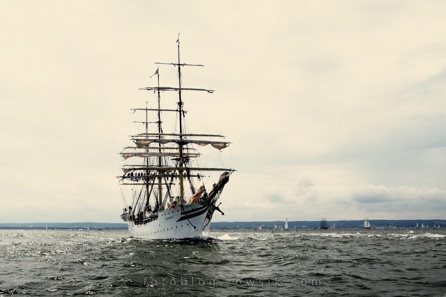 """Zlot Żaglowców Gdynia 2009. Regaty (CUTTY SARK) """"The Tall Ship`s Races"""" cz 2 z 2. 36"""