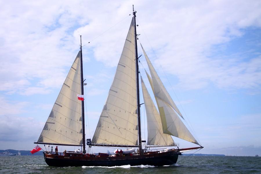 """Zlot Żaglowców Gdynia 2009. Regaty (CUTTY SARK) """"The Tall Ship`s Races"""" cz 2 z 2. 39"""