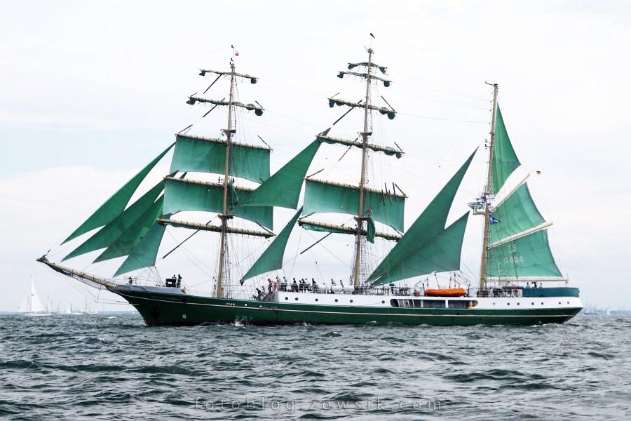"""Zlot Żaglowców Gdynia 2009. Regaty (CUTTY SARK) """"The Tall Ship`s Races"""" cz 2 z 2. 40"""