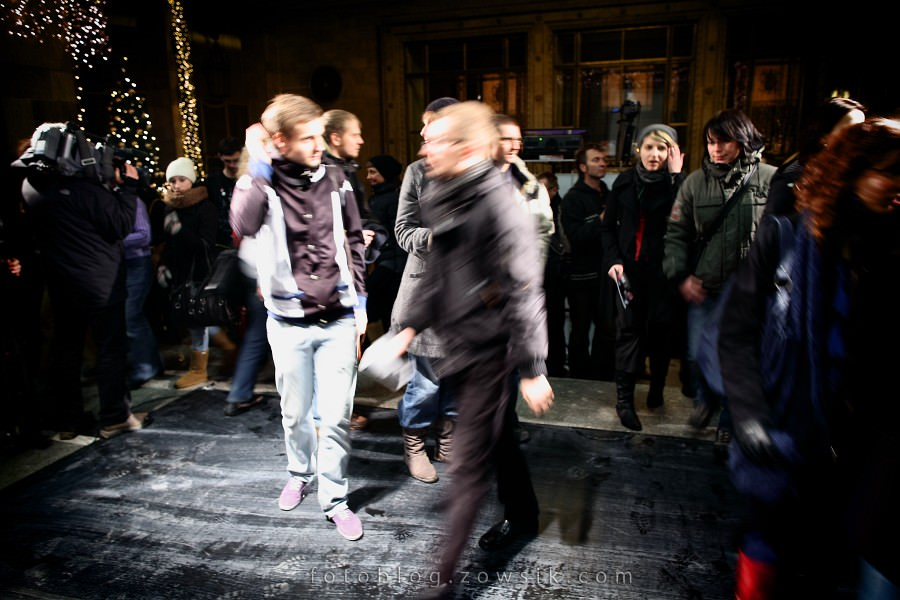 re:wizje 2010 - Inwazja Sztuki Niezależnej. Noc sztuki w PKiN, Warszawa. 5