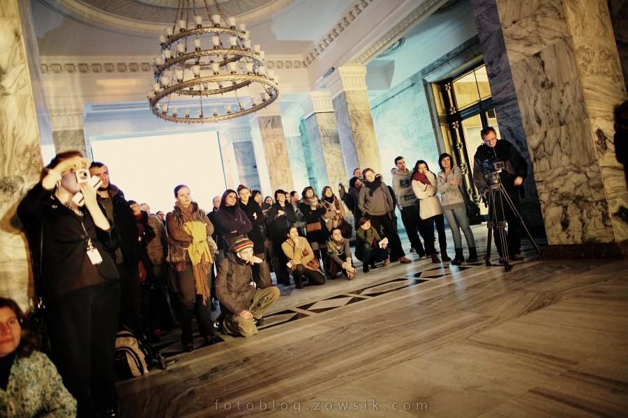 re:wizje 2010 - Inwazja Sztuki Niezależnej. Noc sztuki w PKiN, Warszawa. 15
