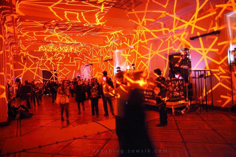 re:wizje 2010 - Inwazja Sztuki Niezależnej. Noc sztuki w PKiN, Warszawa. 29