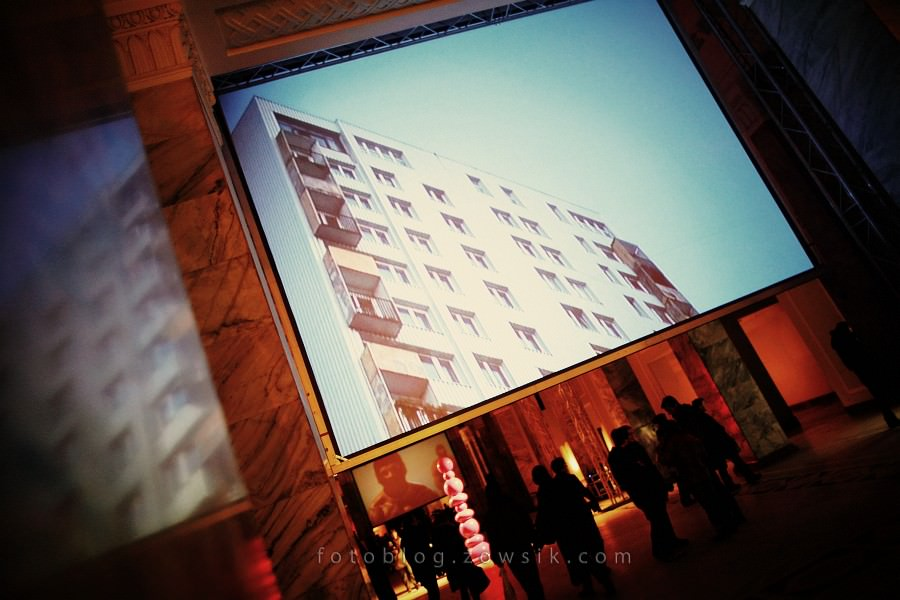 re:wizje 2010 - Inwazja Sztuki Niezależnej. Noc sztuki w PKiN, Warszawa. 34