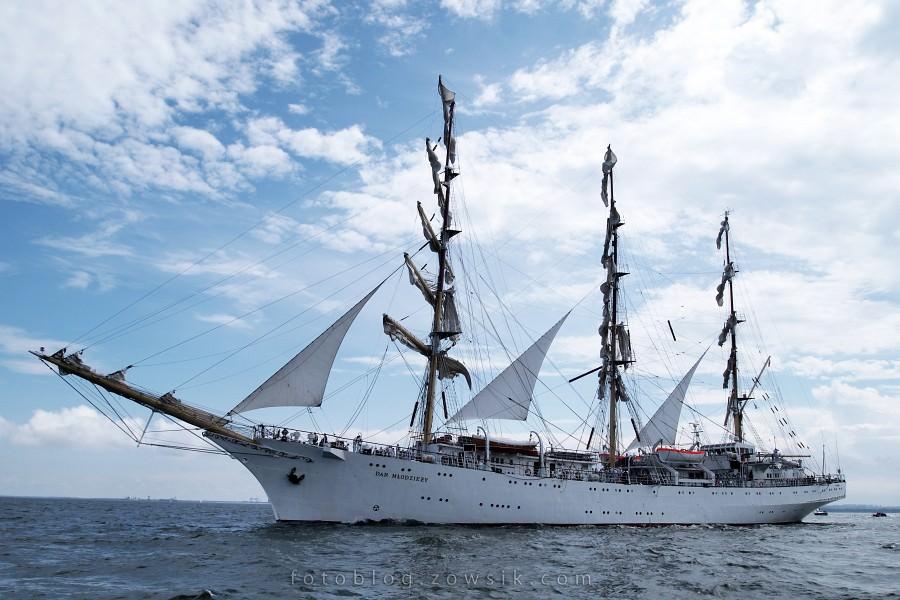 """Zlot Żaglowców Gdynia 2009. Regaty (CUTTY SARK) """"The Tall Ship`s Races"""" cz 2 z 2. 41"""