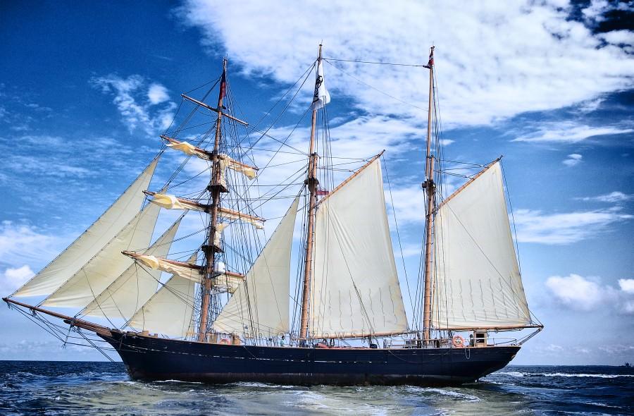 """Zlot Żaglowców Gdynia 2009. Regaty (CUTTY SARK) """"The Tall Ship`s Races"""" cz 2 z 2. 42"""