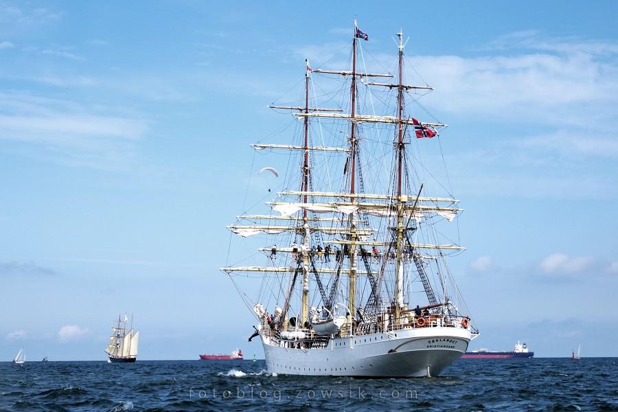 """Zlot Żaglowców Gdynia 2009. Regaty (CUTTY SARK) """"The Tall Ship`s Races"""" cz 2 z 2. 43"""