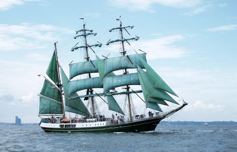 """Zlot Żaglowców Gdynia 2009. Regaty (CUTTY SARK) """"The Tall Ship`s Races"""" cz 2 z 2. 44"""