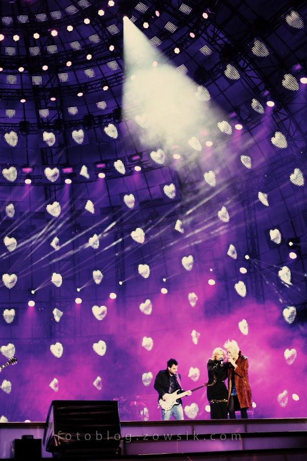"""""""Sylwestrowa Moc Przebojów 2010/2011"""" z Telewizją Polsat i Urzędem M.St.Warszawa / część II - Danzel, Opus, Natasza Urbańska, Kombi, Varius Manx, Golec uOrkiestra, Maciej Maleńczuk, Kasia Kowalska i inni. 20"""