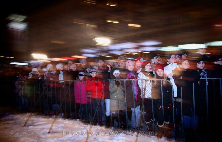 """""""Sylwestrowa Moc Przebojów 2010/2011"""" z Telewizją Polsat i Urzędem M.St.Warszawa / część III - wystąpienie Prezydent Miasta, H.Gronkiewicz-Waltz i Przewodniczącego PE, J.Buzka oraz Warszawiacy (i Goście) witający Nowy Rok 21"""