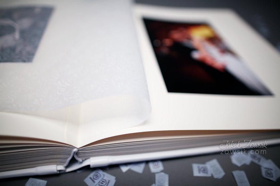 Ekskluzywny album ślubny firmy Barański - wyklejanie, zdjęcia. 26