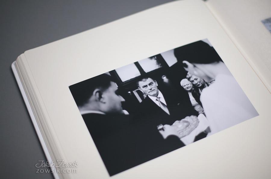 Ekskluzywny album ślubny firmy Barański - wyklejanie, zdjęcia. 34