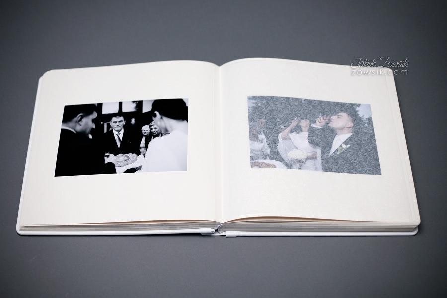 Ekskluzywny album ślubny firmy Barański - wyklejanie, zdjęcia. 35