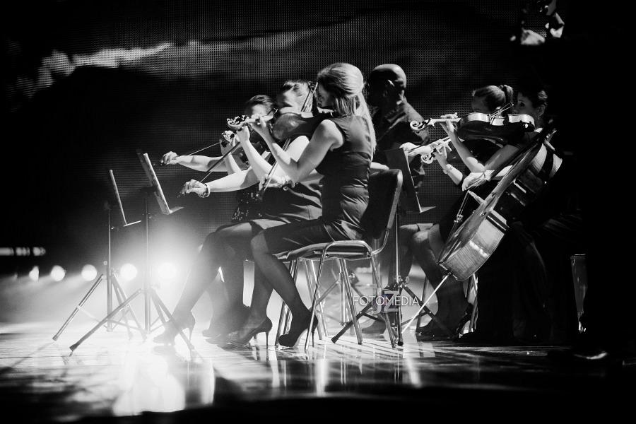 Must Be The Music. Tylko Muzyka. Polsat - pierwszy odcinek na żywo - reportaż ze studia 94