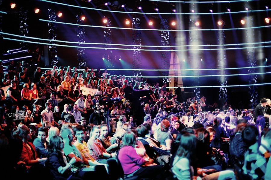 Must Be The Music. Tylko Muzyka. Polsat - pierwszy odcinek na żywo - reportaż ze studia 99